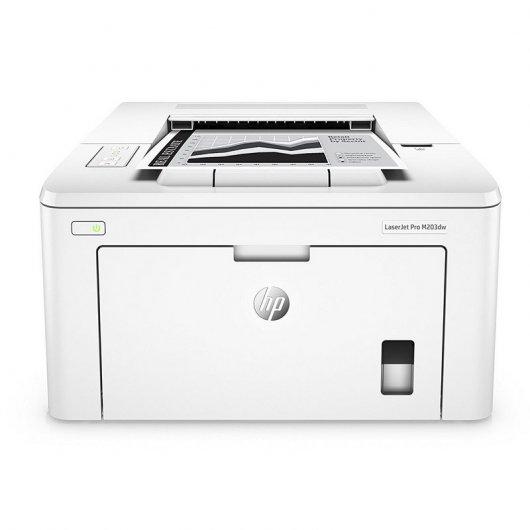 HP LaserJet Pro M203dw Impresora Láser Monocromo Dúplex Wifi Blanca