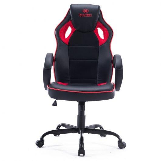 Owlotech ogs100 silla gaming negro rojo reacondicionado pccomponentes - Ofertas sillas gaming ...