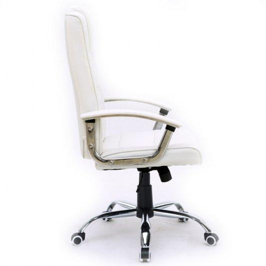 Silla de oficina stanford blanca for Sillas para hoverboard