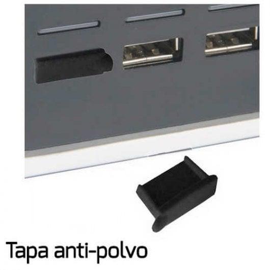 Tapa Anti Polvo Para Puerto USB X4