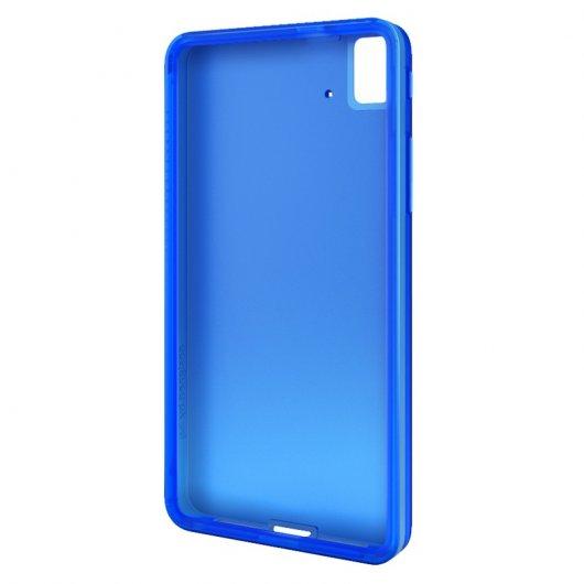 Bq funda gummie cover azul para aquaris e4 5 pccomponentes - Fundas aquaris 4 5 ...