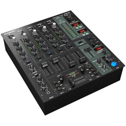 Behringer djx750 mesa de mezclas dj 4 canales pccomponentes for Mesa de mezclas virtual