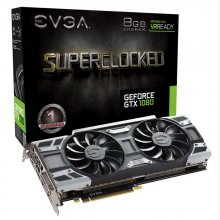 EVGA GTX 1080 Superclocked Gaming ACX 3.0 8GB GDDR5X en PcComponentes