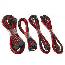 CableMod C-Series AXi, HXi & RM Basic Cable Kit - Negro y Rojo en PcComponentes