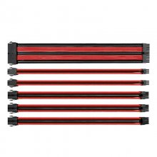 Thermaltake TtMod Sleeve Pack Cables Extension Placa Base Negro/Rojo en PcComponentes