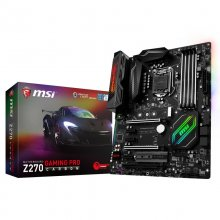 MSI Z270 Gaming Pro Carbon en PcComponentes