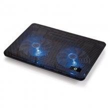a001db568 Conceptronic Base de Refrigeración Dual para Portátiles hasta 15.6