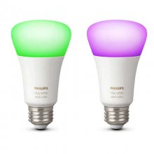 Philips Hue White and Color Ambiance 2 Bombillas Blanco y Color E27 en PcComponentes