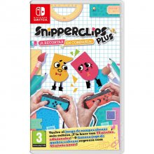 Snipperclips Plus ¡A Recortar En Compañía! Nintendo Switch en PcComponentes