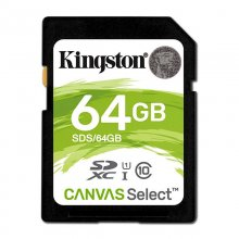 Kingston Canvas Select SDXC 64GB UHS-1 U3 V30 en PcComponentes