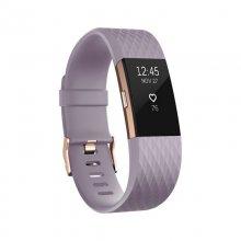 Fitbit Charge 2 Pulsera de Actividad Lavanda/Rosa Oro Pequeña