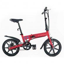 Ebike Bicicleta Eléctrica Roja