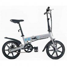 Ebike Bicicleta Eléctrica Plata