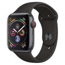 AppleWatch Series4 GPS+Cellular 40mm Aluminio Gris Espacial con Correa Deportiva Negra