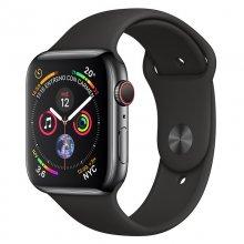 AppleWatch Series4 GPS+Cellular 40mm Acero Inoxidable Negro Espacial con Correa Deportiva Negra
