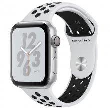 Apple Watch Nike+ Series 4 GPS 40mm Aluminio Plata con Correa Deportiva Nike Platino Puro/Negra