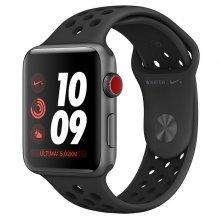 Apple Watch Nike+ Series 3 GPS + Cellular 42mm Aluminio Gris Espacial con Correa Deportiva Nike Antracita/Negro