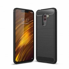 German Tech Elite Carbon Funda Negra para Xiaomi Pocophone F1 en PcComponentes
