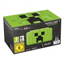 Nintendo New 2DS XL Minecraft Creeper Edition + Minecraft (Preinstalado) en PcComponentes