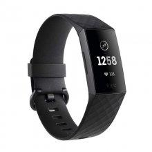 Fitbit Charge 3 Pulsera de Actividad Grafito/Negra Reacondicionado
