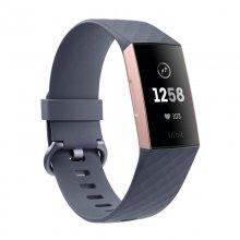 Fitbit Charge 3 Pulsera de Actividad Oro Rosa/Gris Azulado Reacondicionado