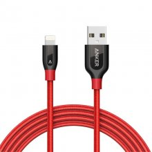 Anker PowerLine+ Cable Lightning a USB 1.8m Rojo en PcComponentes