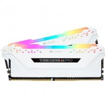 Corsair Vengeance RGB Pro DDR4 3200 PC4-25600 32GB 2x16GB CL16 Blanco en PcComponentes