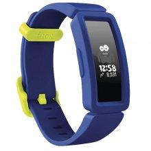 Fitbit Ace 2 Pulsera de Actividad para Niños Azul/Amarillo