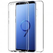 Funda Silicona 3D Transparente Trasera y Delantera para Samsung Galaxy S9