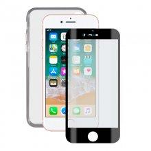 81301af3b2f Contact Pack Funda Ultrafina Transparente + Protector Cristal Templado para  iPhone 8. 7 ...
