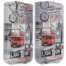 Akashi Funda Bosillo London para Smartphones 132x66mm en PcComponentes