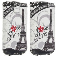 Akashi Funda Bosillo Love Paris para Smartphones 132x66mm en PcComponentes