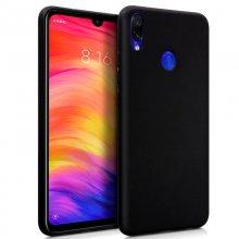 b1900d59582 Cool Funda Silicona Negra para Xiaomi Redmi Note 7/Note 7 Pro