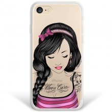WoowCase Funda de Silicona Chica Tatoo para iPhone 8 en PcComponentes