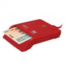 Woxter Lector DNI-e USB Rojo