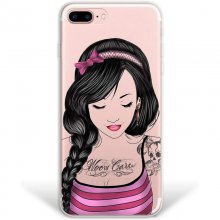 WoowCase Funda de Silicona Chica Tatoo para iPhone 8 Plus en PcComponentes