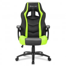 Sharkoon Skiller SGS1 Silla Gaming Negra/Verde Reacondicionado en PcComponentes