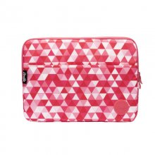 Smile Pink Geometric Funda para Portátil 13