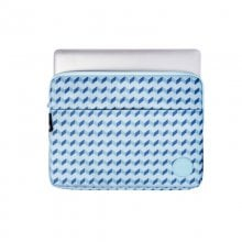 Smile Blue Geometric Funda para Portátil 13