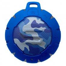 Soul Storm Altavoz Bluetooth Waterproof Camuflaje Azul