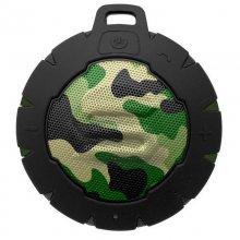 Soul Storm Altavoz Bluetooth Waterproof Camuflaje Verde