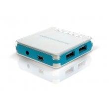Conceptronic Stylish Hub 4 Puertos USB 2.0 Azul