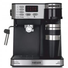 Haeger Multi Coffee Cafetera Espresso 15 Bares 1450W