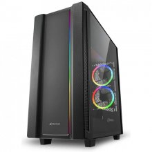 Sharkoon REV220 Cristal Templado USB 3.1 Negra en PcComponentes