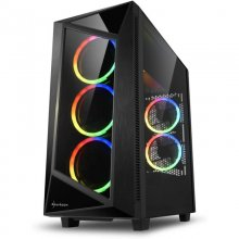 Sharkoon REV200 Cristal Templado USB 3.1 Negra en PcComponentes