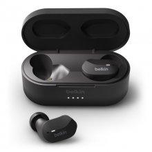 Belkin Auriculares Internos SoundForm True Wireless Bluetooth Negro