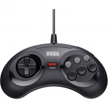 Retro-Bit Gamepad SEGA MD Mini 6-B USB Negro en PcComponentes
