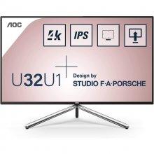 AOC U32U1 Studio F.A. Porche 31.5 LED IPS UltraHD 4K HDR