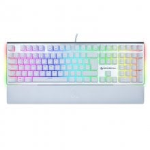 Newskill Serike Ivory Red Teclado Mecânico Gaming Full RGB Switch Red en PcComponentes