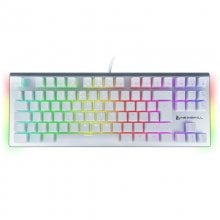 Newskill Serike TKL Ivory Red Teclado Mecânico Gaming Full RGB Switch Red en PcComponentes